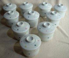 10 Japanese Ceramic Ramekins - Ceramics & Pottery