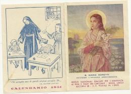 1951-- Assistenza Ai Carcerati-- S. Maria Goretti - Calendriers