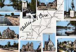 60   Vallee De L'Oise,St Leu,Verberie,Longueil,Compiegne,Precy,Creil,Chably,Ribecourt,Noyon,Boran,Pont St Maxence - Sonstige Gemeinden