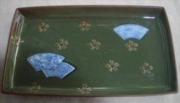 Small Japanese Ceramic Plate - Ceramics & Pottery
