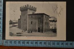 1903 AREZZO MONTEVARCHI   Caserma Carabinieri Nel Castello - Arezzo