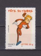 FRANCE / 2006 / Y&T N° 3877 ** : Spirou (de Feuille) - Gomme D´origine Intacte - France