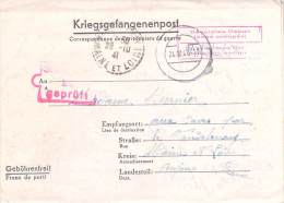 Stalag VII B  Germany WWII WW2 POW Prisoner Of War Censorship Censuur Geprüft Kriegsgefangenenpost FREE SHIPPING - Allemagne