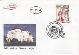 Austria FDC 1999 100 Jahre Grazer Opernhaus Bb151230 - FDC