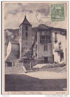 ANDORRE CARTE MAXIMUM LA PLACE D'ORDINO  ARCHITECTURE - Andorre