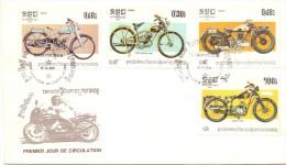 MOTOR BIKE PRIMIER JOUR DE CIRCULATION KAMPUCHEA   (franc0249) - Cambodia