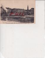 Nantes Et Ses Changements - Avant 1930 - La Loire Et La Petite-Hollande Devant La Bourse, Ref 1512-897 - Nantes