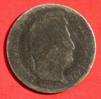 1/2 Franc 1842 W - Louis-Philippe - - G. 50 Centesimi