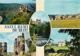63 - Saint-Remy-de-Blot : Carte Multi-vues - France