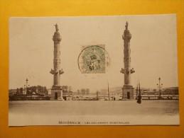 Carte Postale - BORDEAUX (33) - Colonnes Rostrales (1151/1000) - Bordeaux