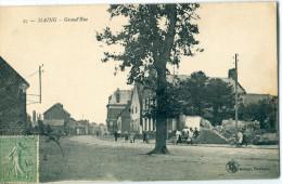 59 - Maing : Grand Rue - France