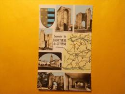 Carte Postale - SAUVETERRE DE GUYENNE (33) - Multi Vues + Carte (1165/1000) - France