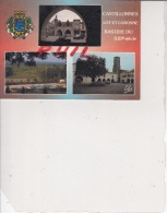 Castillonnes - Carte Multivues, Ref 1512-923 - France
