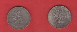Pologne  // 500 Zlotes 1989  //  KM 185 //  TTB - Polonia