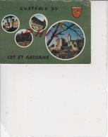 Châteaux Du Lot-et-Garonne - Carte Multivues, Ref 1512-938 - France