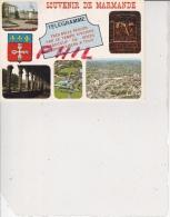 Marmande - Carte Multivues, Ref 1512-943 - Marmande