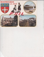 Marmande - Carte Multivues, Ref 1512-944 - Marmande