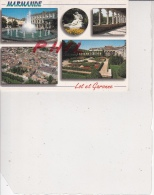 Marmande - Carte Multivues, Ref 1512-946 - Marmande