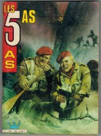 LES 5 AS N° 255 MENSUEL 2 ème Trimestre 1986 Edition IMPERIA - 4 As, Les