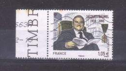 Année 2013  Jacques  Baumel  Oblitéré  Bdf - France