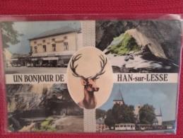 UN BONJOUR DE HAN SUR LESSE  RESTAURANT . TRAMWAY - Belgique
