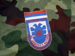 """Patch """" Panteri"""" Serbe De Bosnie VRS  Yougoslavie Serbie Conflit Des Balkans - Militair"""