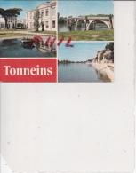 Tonneins - Carte Multivues, Ref 1512-962 - Tonneins