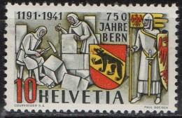 PIA - SVI - 1941 - 750° Anniversario Della Città Di Berna - (Yv 370) - Unused Stamps