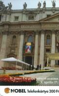 POPE JOHN PAUL II KAROL JOZEF WOJTYLA POLAND JOHN XXIII VATICAN CANONIZATION ST PETER'S BASILICA * MMK 423-424 * Hungary - Ungheria