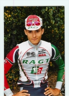 Sylvain CALZATI  . Lire Descriptif. 2 Scans. Cyclisme. RAGT - Radsport