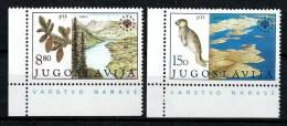 Yugoslavia 1982: European Nature Protection. MNH(**) - 1945-1992 Repubblica Socialista Federale Di Jugoslavia
