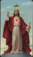 Santino - Holy Card - Cristo Re - Images Religieuses
