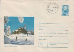 TOURISM, CRISTIANUL MARE CHALET, COVER STATIONERY, ENTIER POSTAL, 1976, ROMANIA - Holidays & Tourism