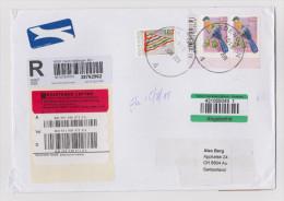 Afrika SÜDAFRIKA 2011-06-27 EDENGLEN Flugpost R-Brief Nach AU ZH - Lettres & Documents