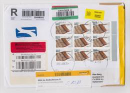 Afrika SÜDAFRIKA 2011-09-06 EDENVALE Flugpost R-Brief Nach AU ZH - Lettres & Documents