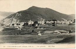 38. Villard  De Lans. Vue Générale - Villard-de-Lans