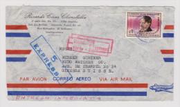 EL SALVADOR 1968-06-?? Exprès Brief Nach Genf - Salvador