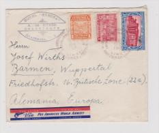 GUATEMALA 1947-12-10 Amb. Brief Nach Barmen D - Guatemala