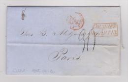 KUBA 1855-03-10 Vorphila Brief Nach Paris - Cuba