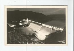 NIGHT VIEW .GRAND COULEE DAM .WASH 1957 - Etats-Unis