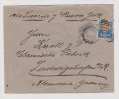 MEXICO 1903-05-01 Brief Nach Ludwigshafen - Mexique