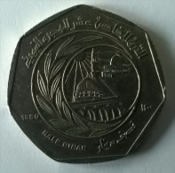 Monnaie - Jordanie - 1/2 Dinar 1980 - - Jordan
