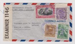 EL SALVADOR 1944-08-30 Zensur Brief Nach Basel - Salvador