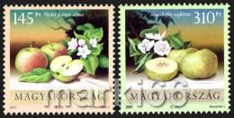Hungary - 2011 - Fruits - Apples - Mint Stamp Set - Ungarn