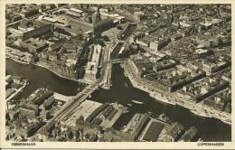 DANEMARCK -COPENHAGUE -- Vue Aérienne -- 1942 -- - Denmark
