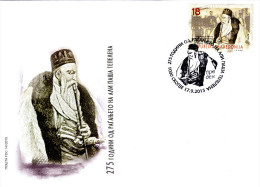 Macedonia/2015/FDC/Prominent Persons/The 275th Anniversary Of The Birth Of Ali Pasha Tepelena - Macedonië