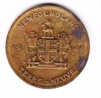 Newfoundland Pitcher Plant Medal - Canada