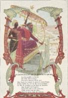 Chromo Phosphatine Falieres Fable De La Fontaine Les Grenouilles Qui Demandent Au Roi - Autres