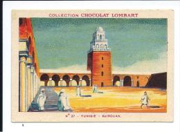 Tunisie Kairouan TB/Bien Pub: Lombart 82 X 57 Mm Rare. Didactique. Jamais Collée - Lombart