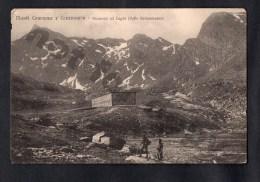 Monti Cournour Cournourin Valle Germanasco RARA Ed. Pinerolo Cartolina Vintage Original Ca1900 Postcard Cpa Ak (W4_1935) - Unclassified